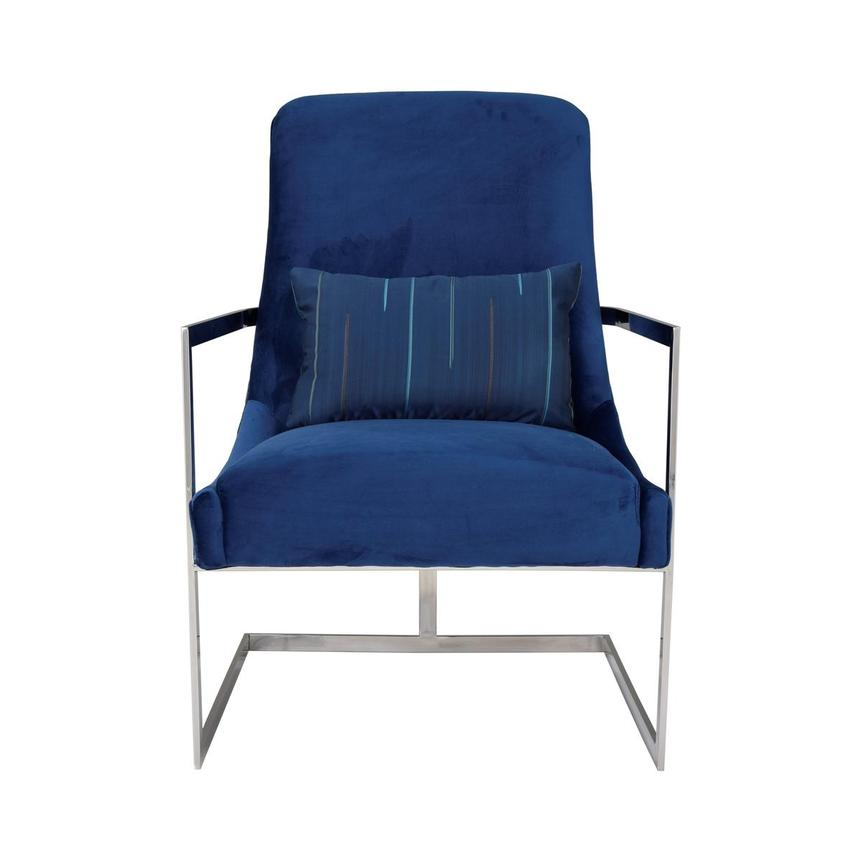 Dimitra Blue Accent Chair  main image, 1 of 8 images.
