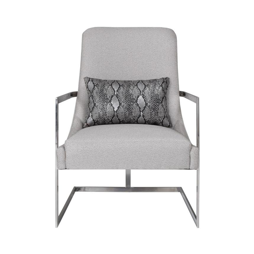 Dimitra Gray Accent Chair  main image, 1 of 9 images.