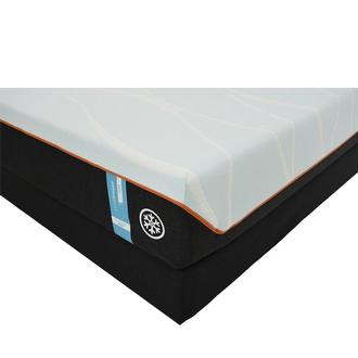 Luxe-Breeze Firm King Mattress w/Low Foundation by Tempur-Pedic