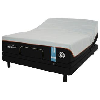 Luxe-Breeze Firm King Mattress w/Ergo® Extend Powered Base by Tempur-Pedic
