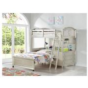 Regency Twin Over Full Bunk Bed w/Storage  alternate image, 2 of 17 images.