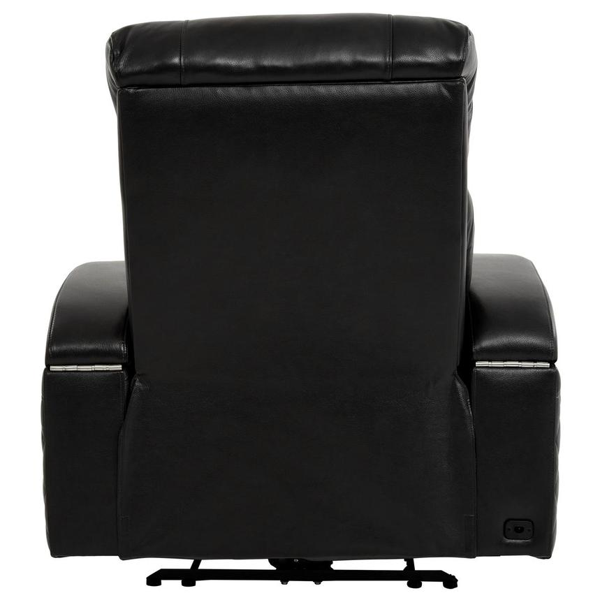 Gio Black Power Motion Leather Recliner  alternate image, 5 of 12 images.