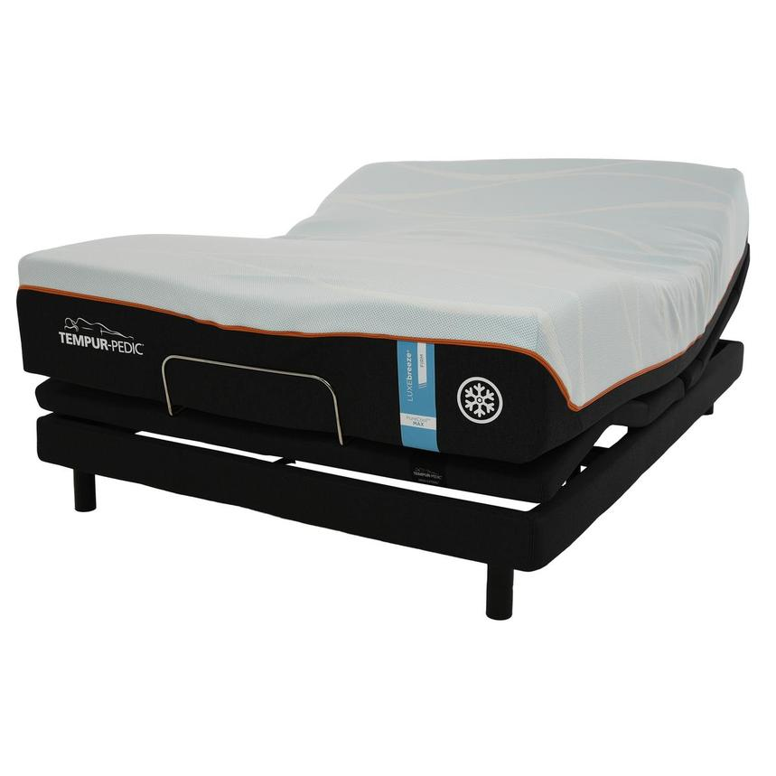 Luxe-Breeze Firm Queen Mattress w/Ergo® Extend Powered Base by Tempur-Pedic  alternate image, 3 of 6 images.