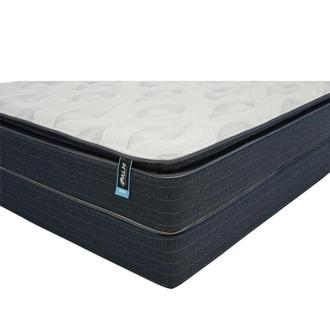 Reef Queen Mattress w/Regular Foundation by Palm