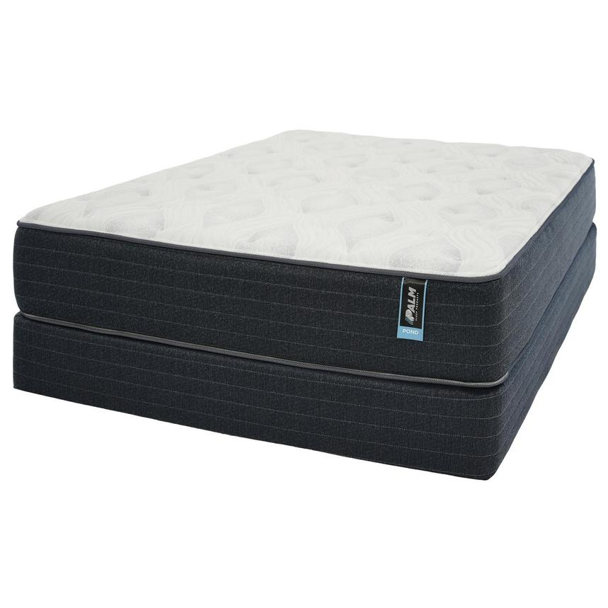 Pond Twin Mattress w/Regular Foundation by Palm  alternate image, 2 of 5 images.
