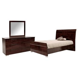 Pisa 3-Piece King  Bedroom Set Made in Italy