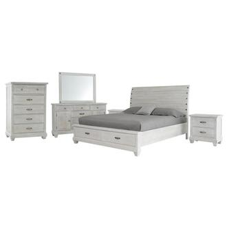 Hamilton White 6-Piece Queen Bedroom Set