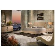 Mont Blanc Gray 6-Piece Queen Bedroom Set Made in Italy  alternate image, 2 of 7 images.