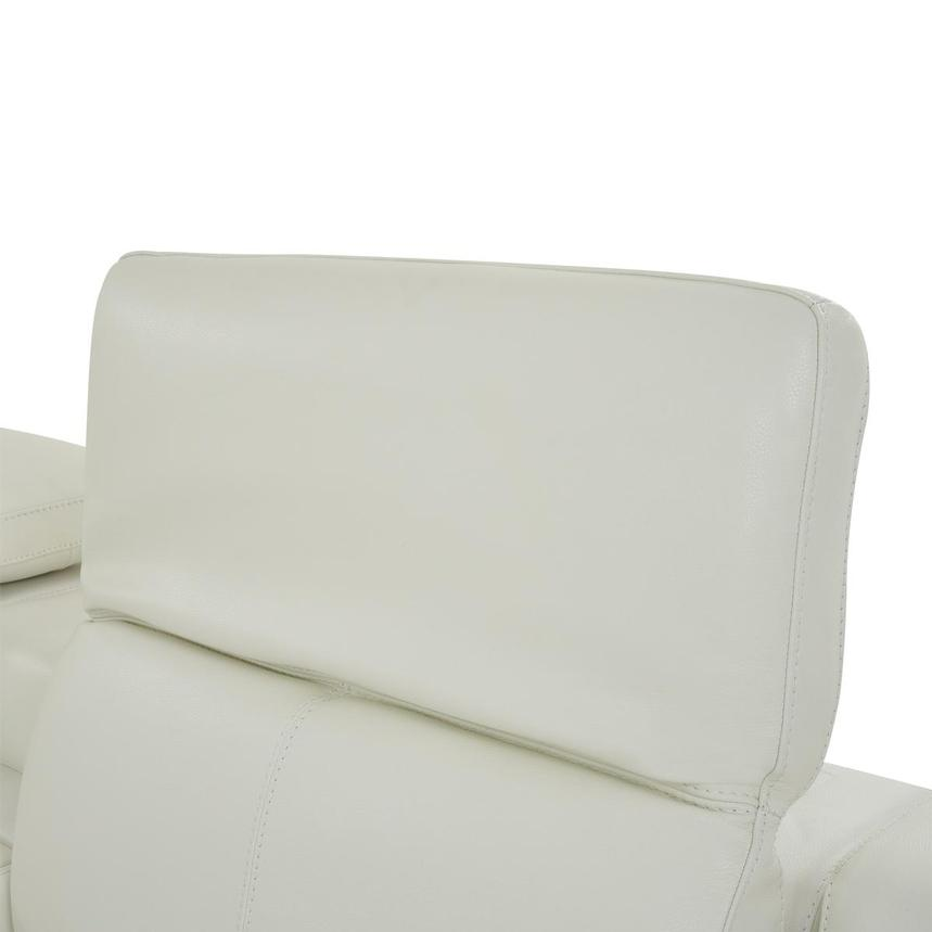 Davis 2.0 White Leather Power Reclining Sectional  alternate image, 5 of 10 images.