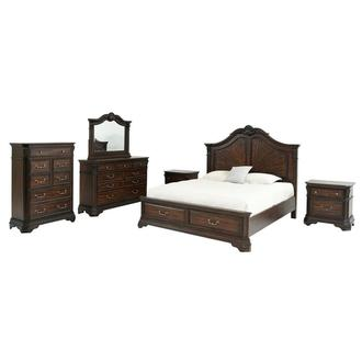 Charles 6-Piece King Bedroom Set