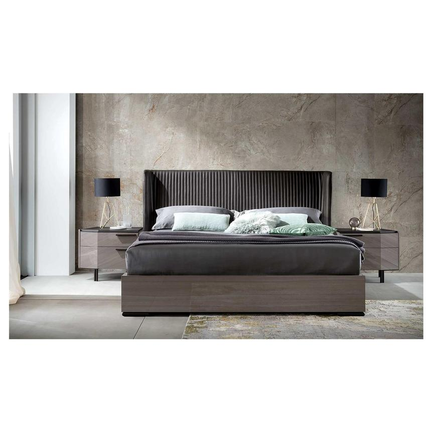 Olimpia Queen Platform Bed Made in Italy  alternate image, 4 of 7 images.