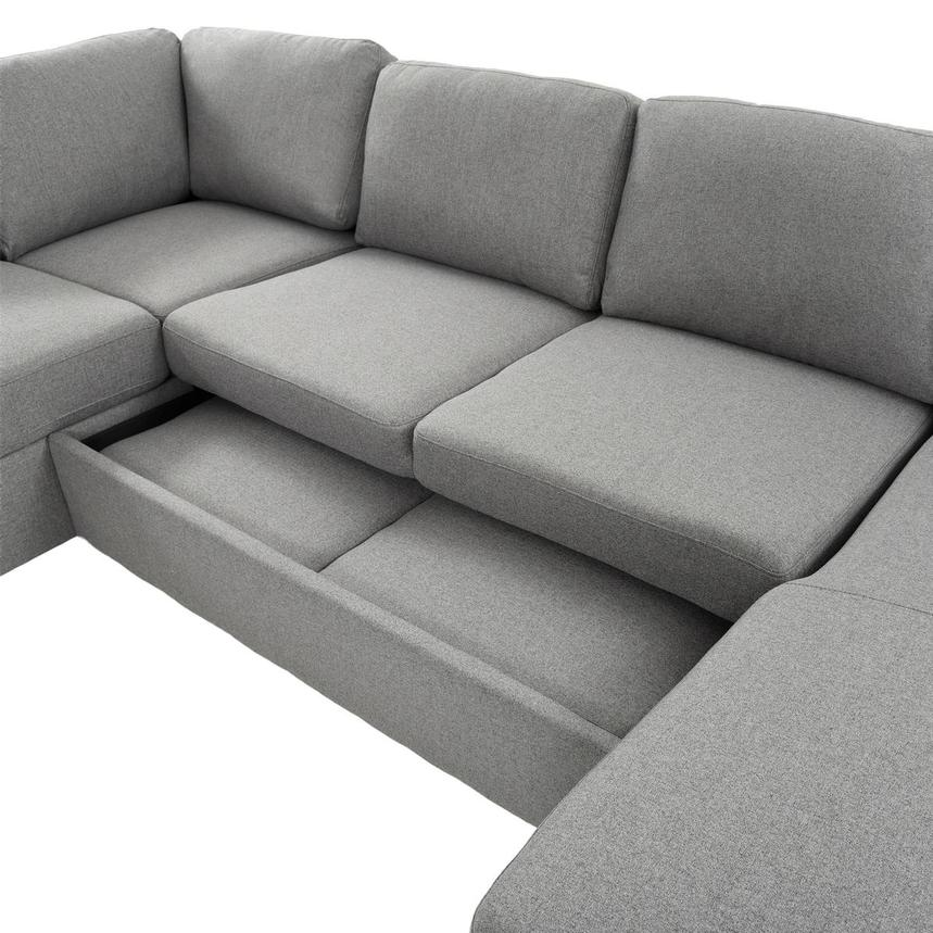 Vivian Sectional Sleeper Sofa w/Right Chaise  alternate image, 7 of 11 images.