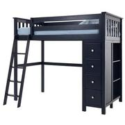 Haus Blue Twin Loft Bed w/Chest  alternate image, 3 of 11 images.