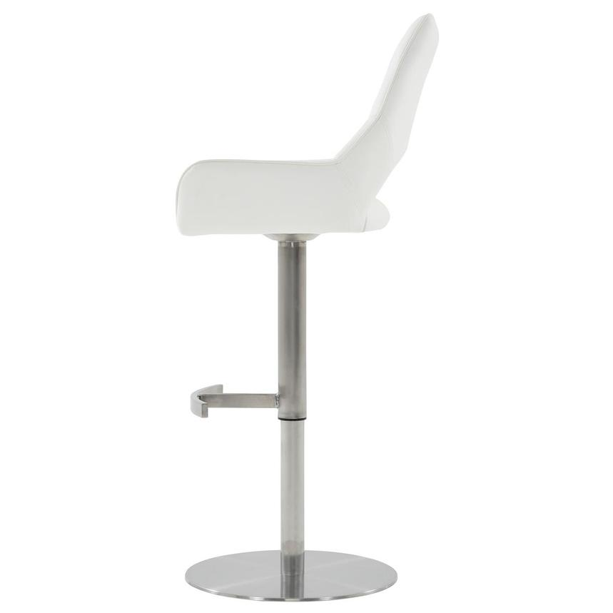 Kalia II White Adjustable Stool  alternate image, 4 of 10 images.
