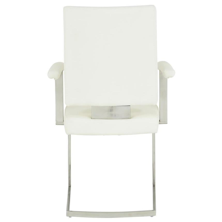 Sveva White Arm Chair  alternate image, 4 of 6 images.