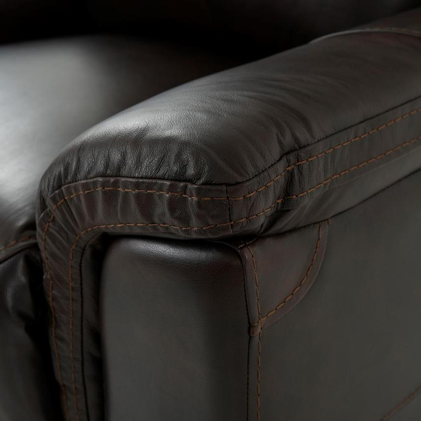 Bronco Leather Power Reclining Sofa w/Console  alternate image, 8 of 12 images.