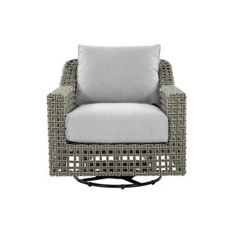 Fortuna Gray Swivel Chair