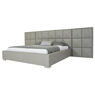 Jr Suite Gray King Platform Bed