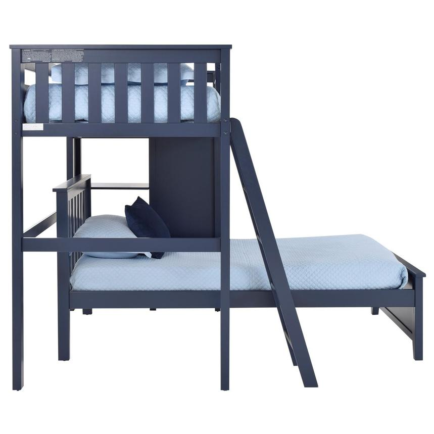 Haus Blue Twin Over Twin Bunk Bed w/Chest  alternate image, 4 of 9 images.