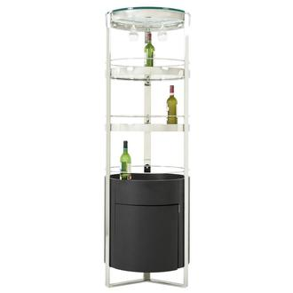 Eliza Black Bar Cabinet
