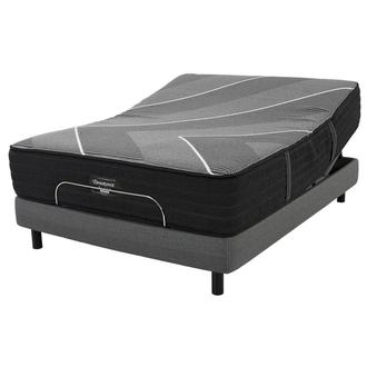BRB-X-Class Hybrid Med. Firm King Mattress w/Motion Perfect® IV Powered Base by Serta®
