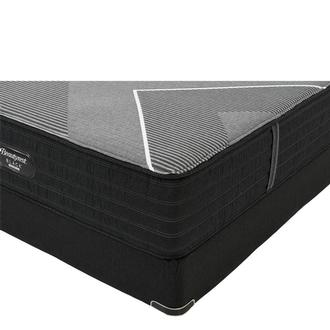 BRB-X-Class Hybrid Med. Firm Twin XL Mattress w/Regular Foundation by Simmons Beautyrest Black Hybrid