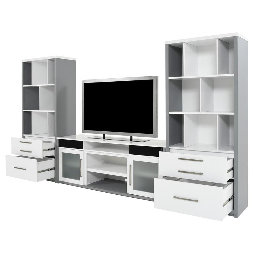 Ashford Wall Unit w/Speakers  alternate image, 4 of 10 images.