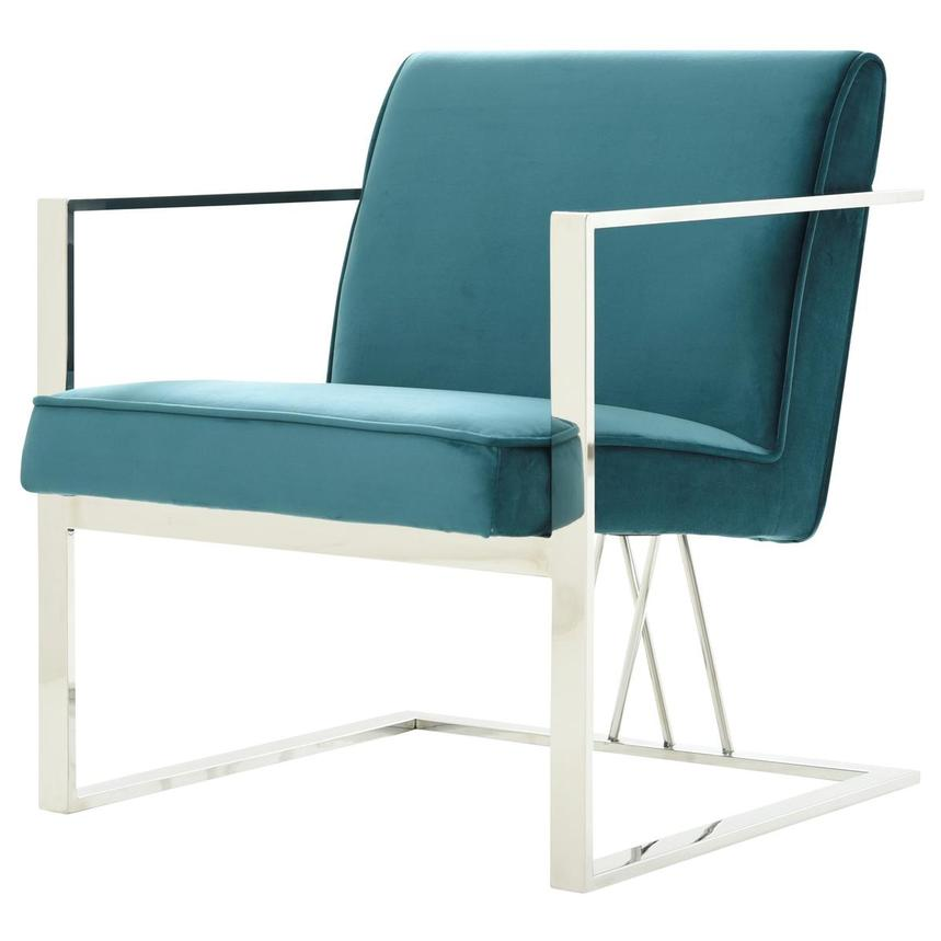 Fairmont Teal Accent Chair  alternate image, 3 of 7 images.