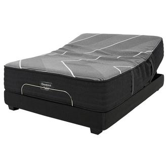 BRB-X-Class Hybrid Plush King Mattress w/Beautyrest® Black Luxury Powered Base by Simmons