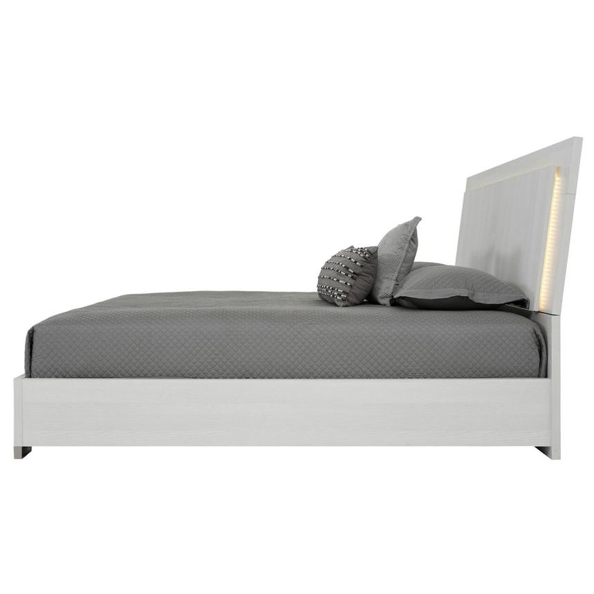 Tivo White King Platform Bed  alternate image, 3 of 6 images.