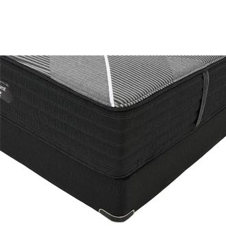 BRB-X-Class Hybrid Firm Twin XL Mattress w/Low Foundation by Simmons Beautyrest Black Hybrid