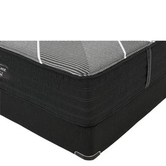 BRB-X-Class Hybrid Plush Queen Mattress w/Regular Foundation by Simmons Beautyrest Black Hybrid