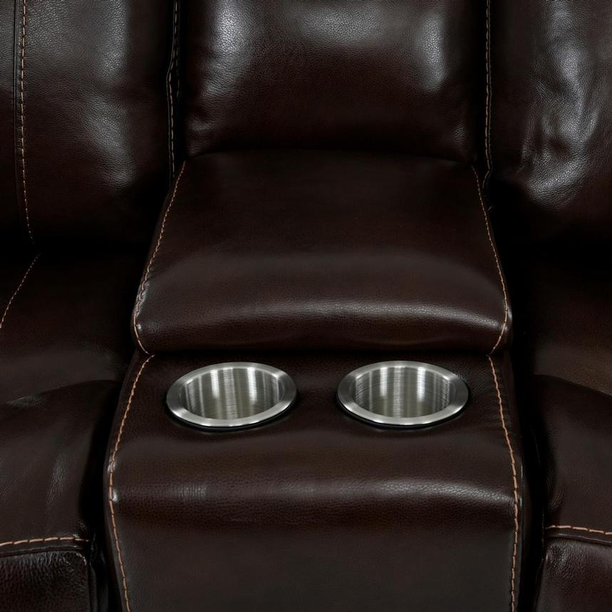 Billy Joe Home Theater Leather Seating  alternate image, 9 of 11 images.