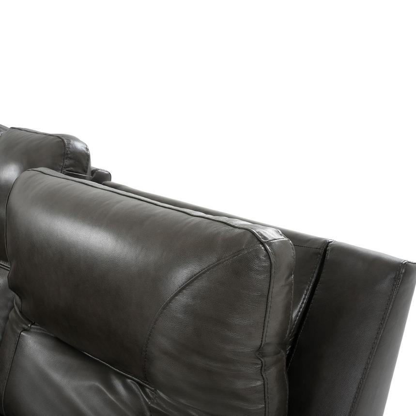 London Leather Power Reclining Sectional  alternate image, 5 of 11 images.