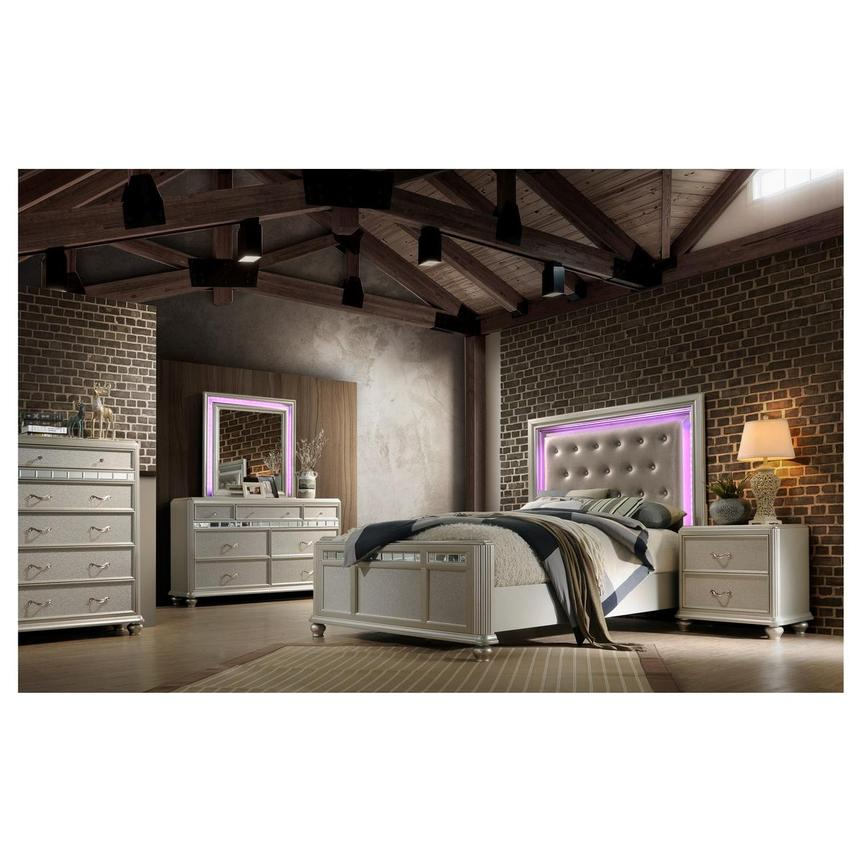 Kaleidoscope 4-Piece King Bedroom Set  alternate image, 4 of 10 images.