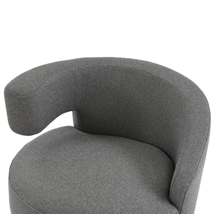 Okru Dark Gray Swivel Chair  alternate image, 5 of 7 images.