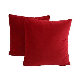 Okru Red Two Accent Pillows