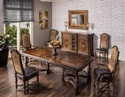 Opulent 5-Piece Formal Dining Set  alternate image, 2 of 17 images.