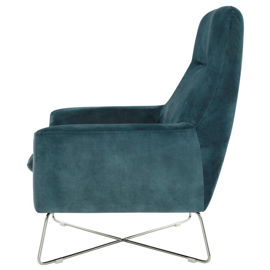 Grigio Turquoise Accent Chair  alternate image, 3 of 7 images.