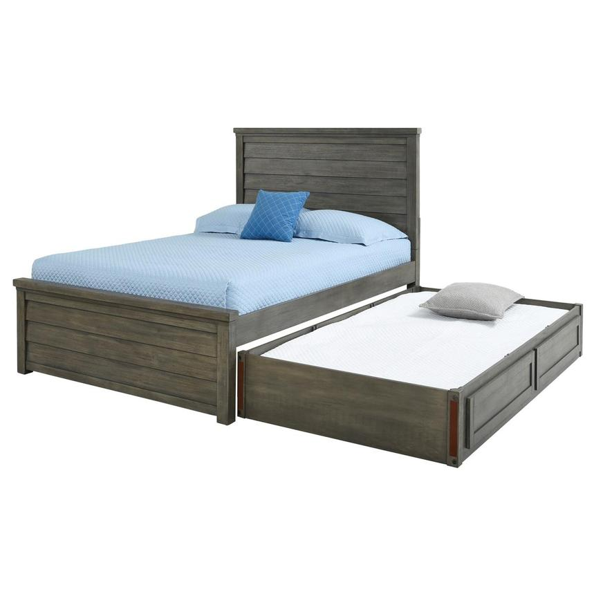 Fortress Twin Platform Bed  alternate image, 9 of 10 images.