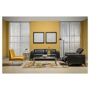 Anabel Gray Leather Power Reclining Sectional  alternate image, 3 of 15 images.