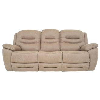 Dan Cream Power Reclining Sofa