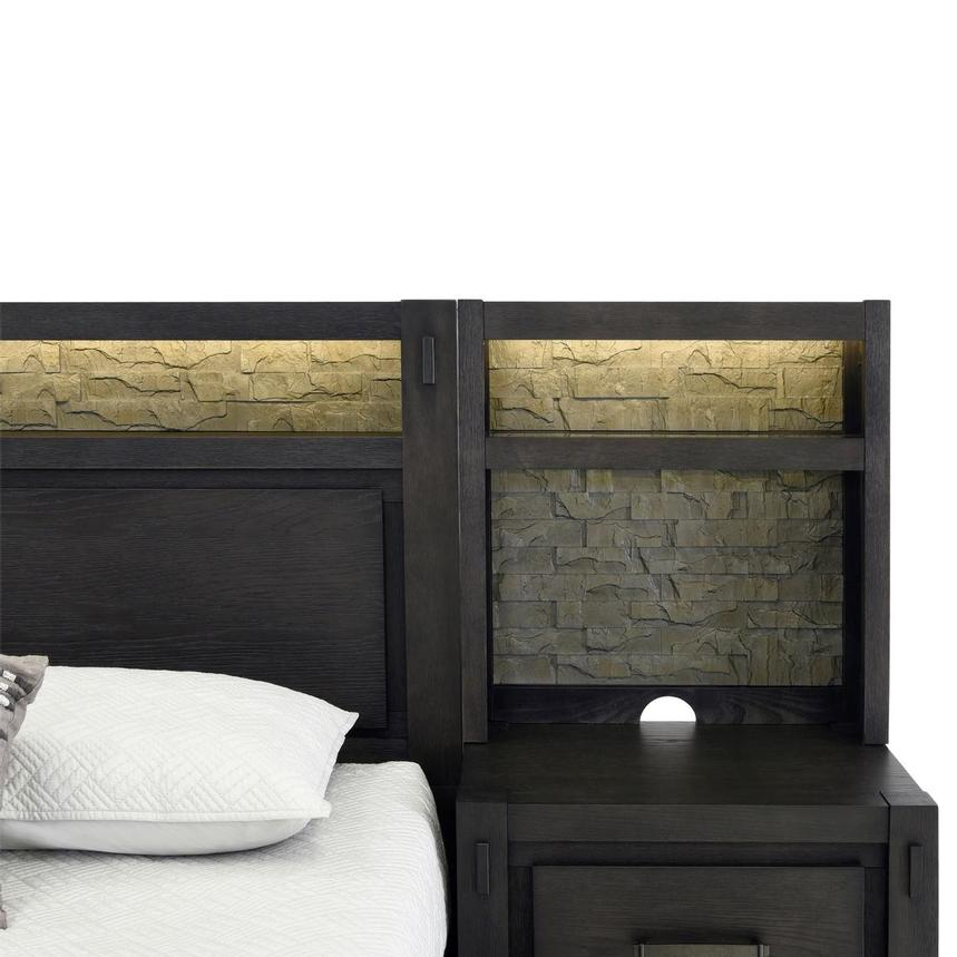 Roca Queen Platform Bed w/Nightstands  alternate image, 5 of 12 images.