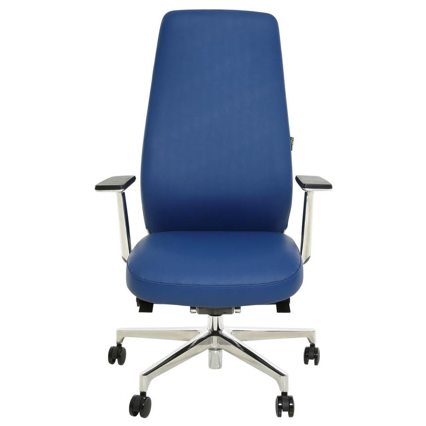 Pepe Blue High Back Desk Chair  alternate image, 2 of 10 images.