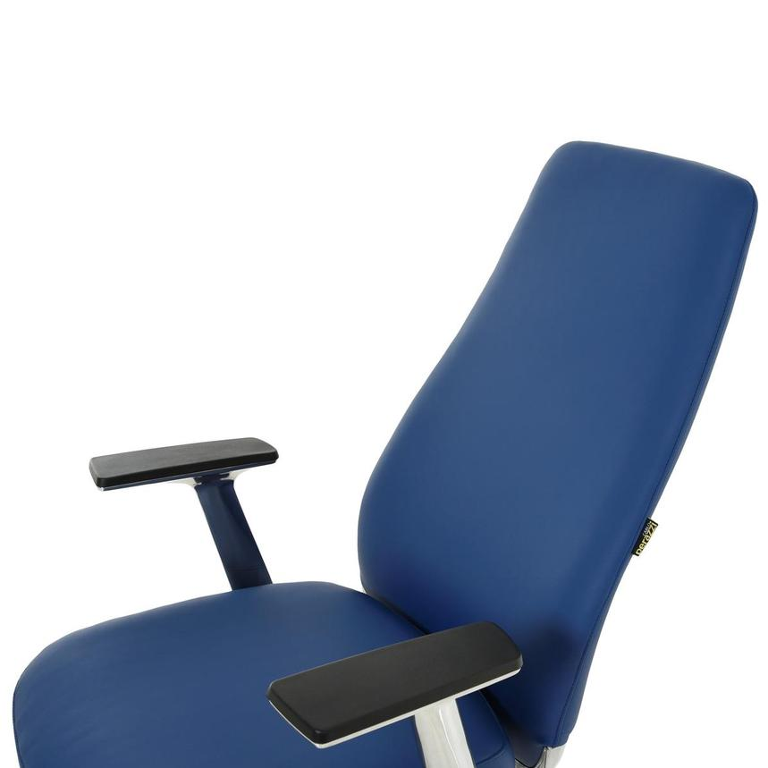 Pepe Blue High Back Desk Chair  alternate image, 7 of 10 images.