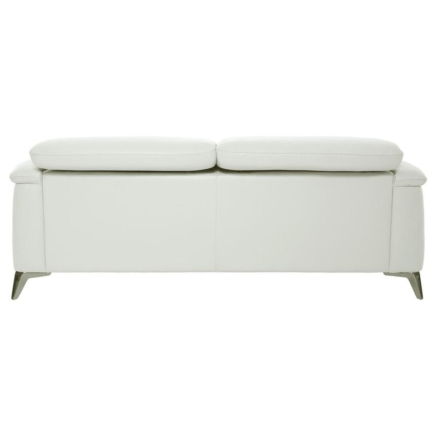 Anabel White Leather Sofa  alternate image, 5 of 11 images.