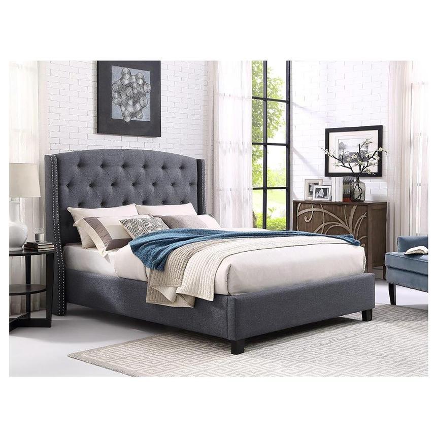 Jason Queen Panel Bed El Dorado Furniture