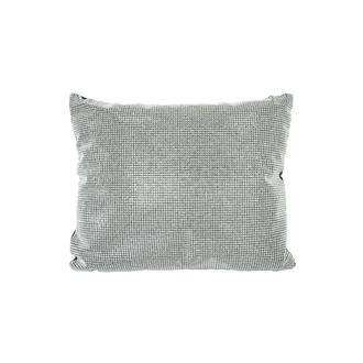 Harlow Silver Accent Pillow