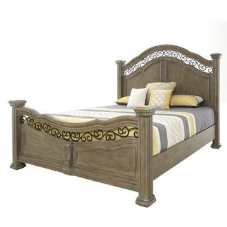 Aurora King Panel Bed