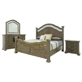 Aurora 4-Piece King Bedroom Set